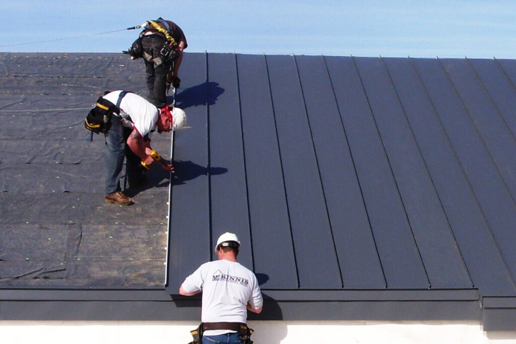 Standing Seam Metal Roof-Boca Raton Metal Roof Installation & Repair Contractors
